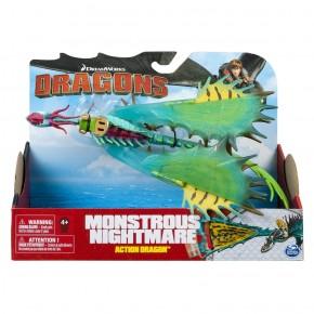 Dragon in actiune Monstrous Nightmare