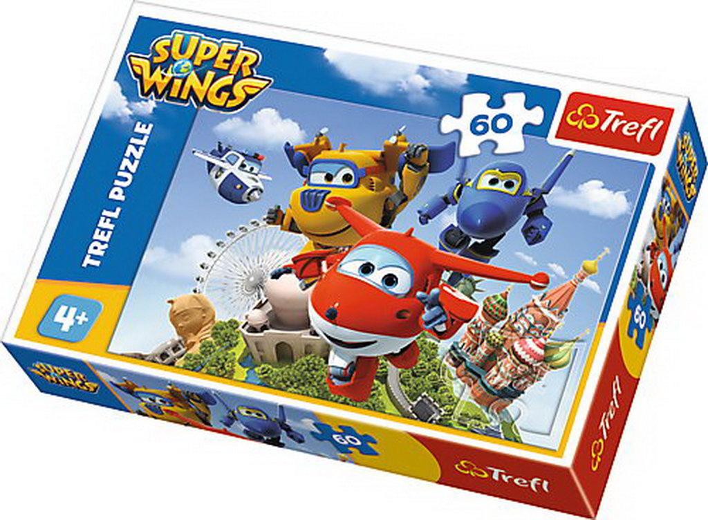 Puzzle Trefl 60 Zbor in jurul lumii