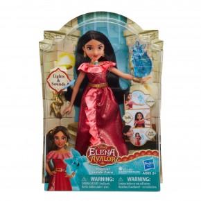 Set Papusa interactiva Disney - Elena din Avalor si figurina Zuzo