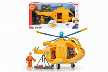 Set elicopterul Wallaby 2 cu figurina