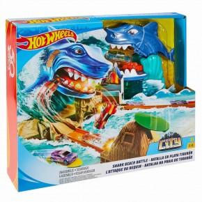 Set de joaca Hot Wheels - Batalia rechinului