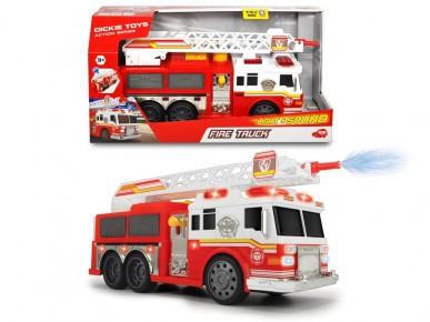 Masina de pompieri cu apa,sunete si lumini