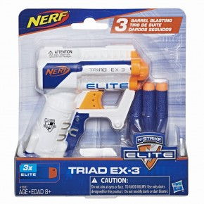 Blaster Nerf Elite Triad Ex3