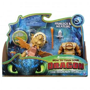 Dragons 3 Fishlegs si Meatlug