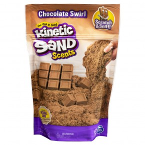 Kinetic Sand set parfumat ciocolata