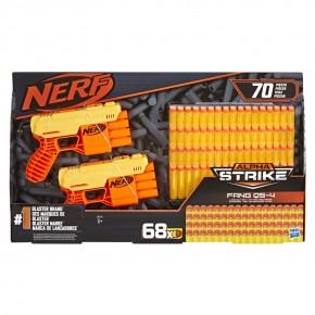 Blaster Nerf Alpha Strike Fang QS4 cu 68 de munitii