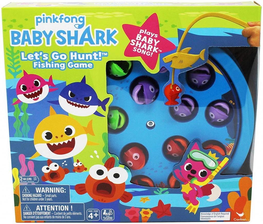Joc pescuit cu celebrul cantec Baby Shark