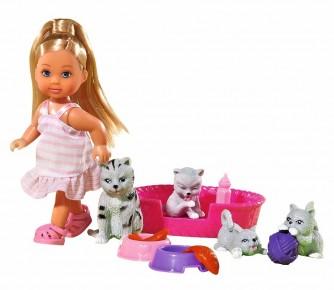 Set Evi cu 4 pisicute