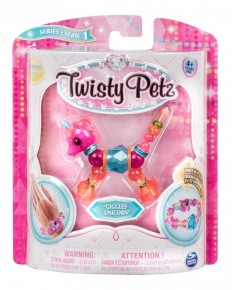 Twisty Petz bratara animal pentru colectionat Unicornul Giggles
