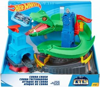 Set de joaca Hot Wheels - Cobra Crush