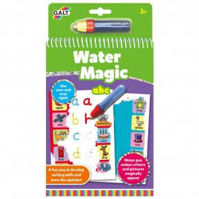 Carte de colorat Water Magic - ABC