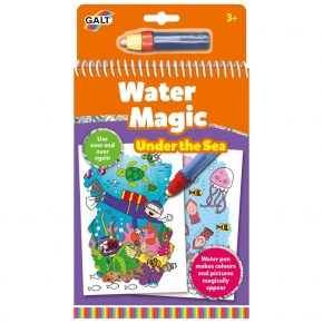 Carte de colorat Water Magic - Lumea acvatica