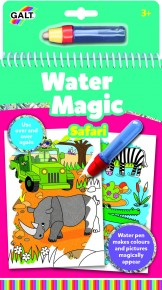 Carte de colorat Water Magic - Safari