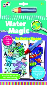 Carte de colorat Water magic - Spatiu