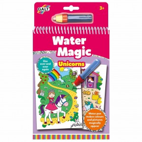 Carte de colorat Water Magic - Unicorni