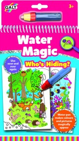 Carte de colorat Water Magic - Who's Hiding?