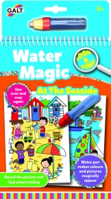Carte de colorat Water Magic - La mare