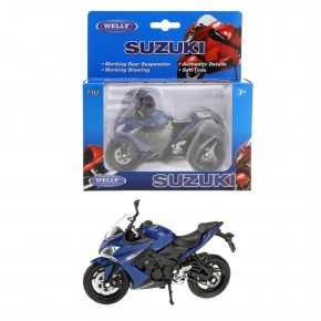 Motocicleta SUZUKI 2017 GSX-S1000 - scara 1:18