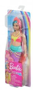 Barbie papusa printesa Dreamtopia cu coronita roz deschis