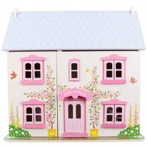 Casuta din lemn pentru papusi - Rose Cottage