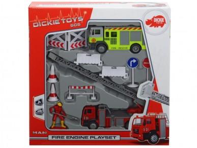Set pompieri si accesorii Dickie