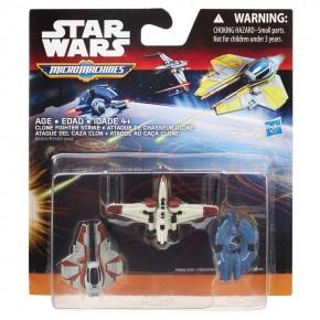 Set 3 figurine Micromachines Episodul VII Clone Fighter