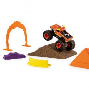 Monster Jam Camioneta cu nisip si accesorii El Toro Loco