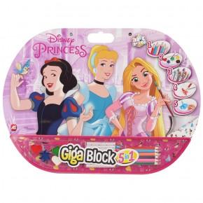 Set pentru desen 5in1 Gigablock Printese Disney