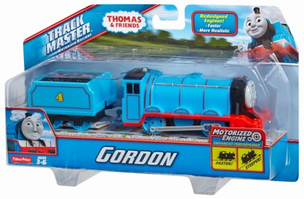 Thomas Trackmaster locomotiva Gordon cu vagon