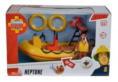 Fireman Sam barca Neptun cu Fig