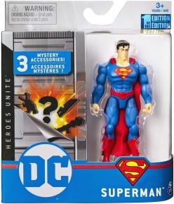 Figurina Superman 10 cm cu accesorii surpriza