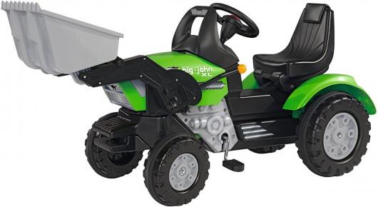 Big tractor Jhon XL cu pedale si incarcator