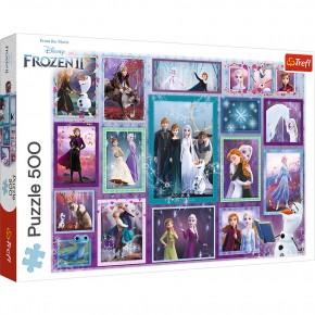 Puzzle Trefl 500 Universul Frozen