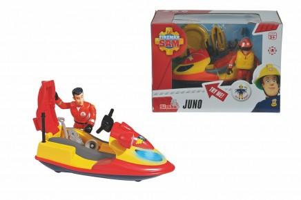 Skyjet Pompierul Sam Juno cu figurine