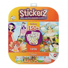 Set 150 autocolante Stickerz reutilizabile cu zane
