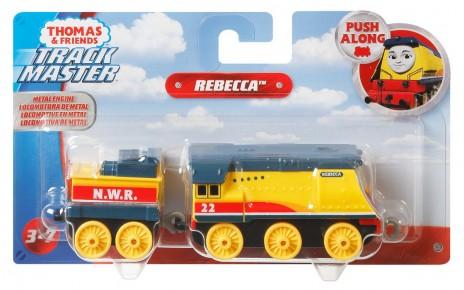 Thomas Locomotiva cu vagon Push Along Rebecca