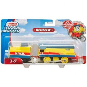 Thomas Trackmaster locomotiva Rebecca cu vagon
