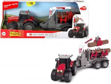 Tractor cu remorca Massey Ferguson 8737