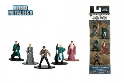 Set de 5 figurine metalice Harry Potter - scara 1:65