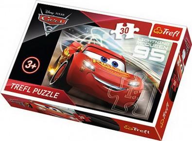 Puzzle Trefl - Fulger McQueen - 30 piese
