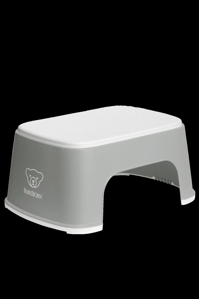 Treapta inaltator pentru baie – Grey / White