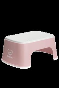 Treapta inaltator pentru baie – Powder Pink / White