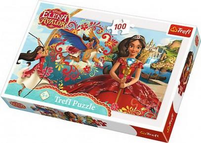 Puzzle Trefl - Magia din Avalor - 100 piese