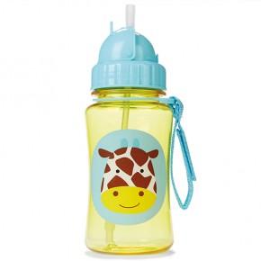 Sticla cu pai Zoo - Girafa