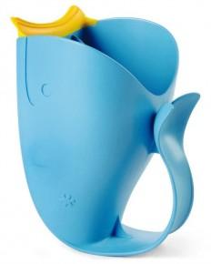 Recipient de clatire pentru baie albastru - Moby
