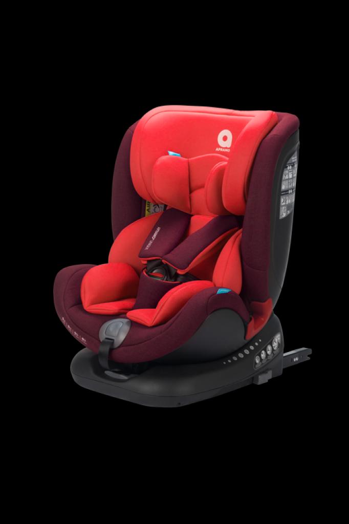 Apramo - Scaun auto Unique Ruby Red, 0 - 36 kg