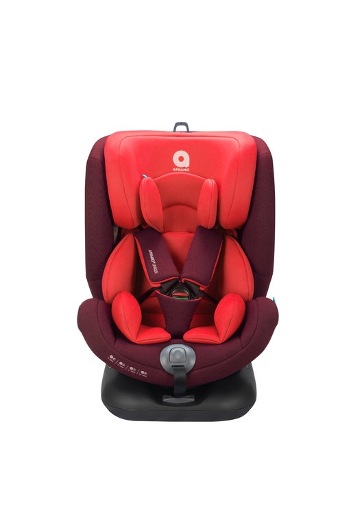 Apramo - Scaun auto Unique Ruby Red, 0 - 36 kg