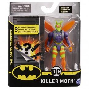 Figurina Killer Moth flexibila 10 cm cu 3 accesorii surpriza