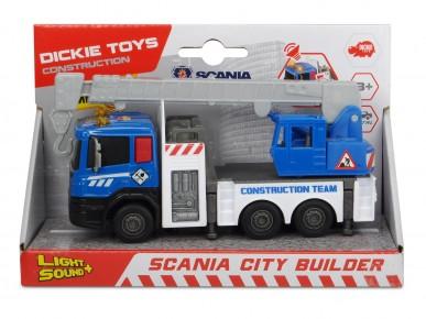 Automacara Scania 17 cm cu sunete si lumini