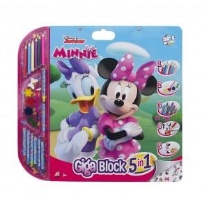 Set pentru desen 5in1 Gigablock Minnie